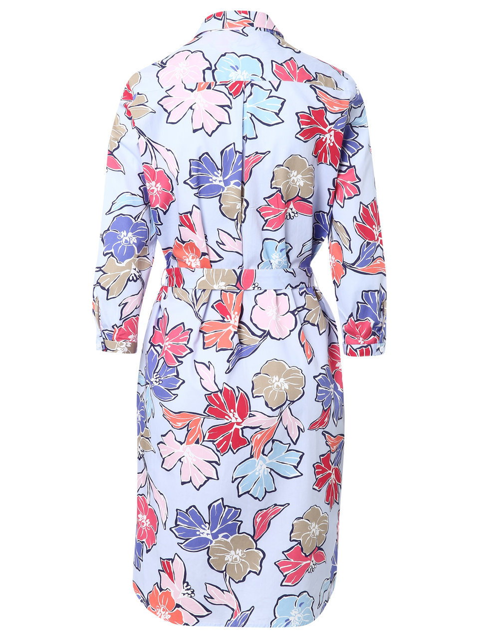 eterna - hemdblusenkleid mit blumenprint
