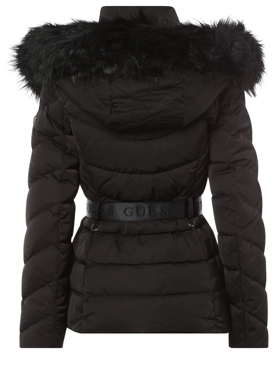 guess - steppjacke mit fake fur