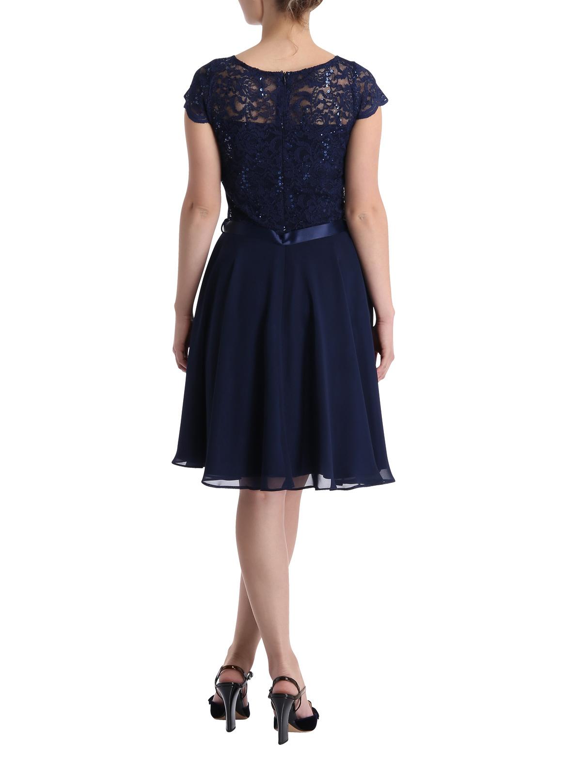 AC get the Look » Kleid mit Spitze (marine) online kaufen ...