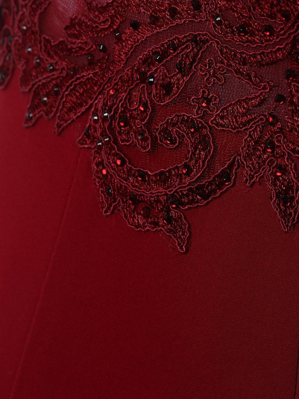 mascara london - abendkleid mit spitzenoberteil