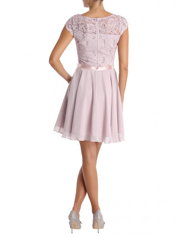 AC get the Look » Kleid mit Spitze (blush) online kaufen ...