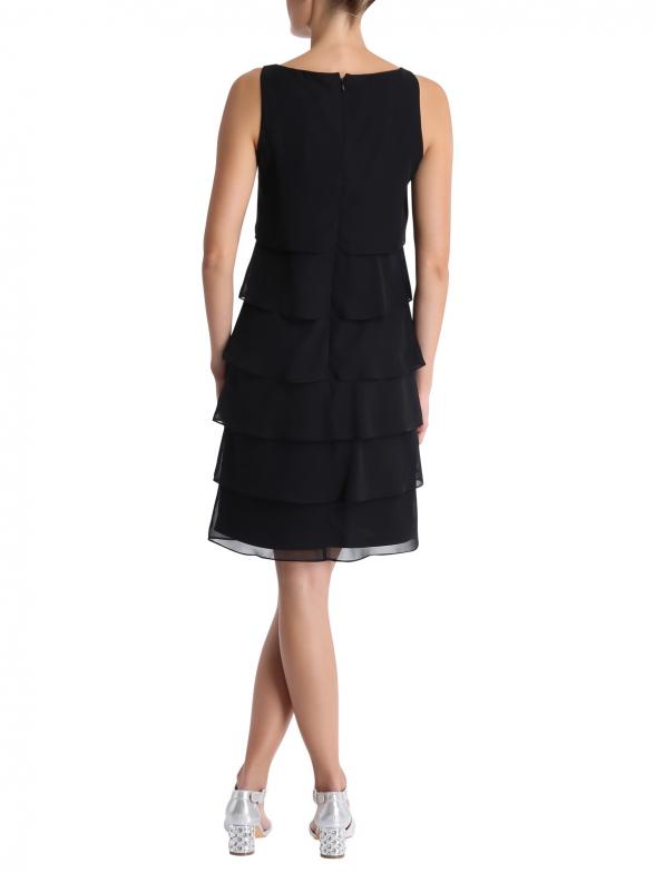 Vera Mont » Kleid mit Layeringeffekt (jet black) online ...