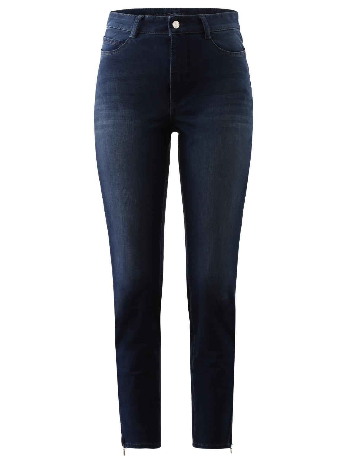 Artikel klicken und genauer betrachten! - Die perfekte Denim: Jeans Dream Sensation von MAC setzt Ihre feminine Silhouette optimal in Szene. Dank BI-Stretch und Shaping-Effekt ist dieses Modell das absolute Wohlfühl-Piece. Ein wunderbares Must-Have. Jeans Dream Sensation von MAC Schmal zulaufender Beinverlauf: Skinny Weiterer Oberschenkel Normale Leibhöhe Cropped-Länge Enge Fußweite Schließt mit Zipfly und Knopf 5-Pocket-Stil Leichte Waschung Beinsaum mit Zipper Swarovskibesatz am Bund Saison: Herbst/Winter Material: 82% Baumwolle, 10% Polyester, 8% Elasthan Versand des Artikels / Ware erfolgt zügig dauert ca. 2 - 4 Werktage.  | im Online Shop kaufen